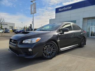 Used 2017 Subaru WRX WRX STI SPORT/LEATHER/SUNROOF/BACKUPCAM/SPOILER for sale in Edmonton, AB