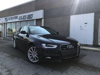 Used 2014 Audi A4 Progressiv-Navi-sunroof-Leather for sale in Toronto, ON