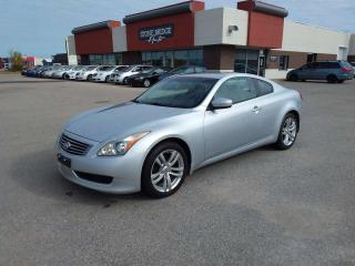 Used 2010 Infiniti G37 Coupe x 2dr AWD 2 Door Coupe for sale in Steinbach, MB