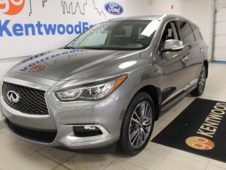 Used 2019 Infiniti QX60 3 MONTH DEFERRAL! *oac | HEATED AND COOLED SEATS | NAV | PANARAMIC ROOF | 7 SEATS for sale in Edmonton, AB