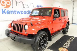 Used 2018 Jeep Wrangler JK Unlimited Wragler JK Unlimited | 4x4 | One Owner | Low KMS | Great SHAPE! for sale in Edmonton, AB