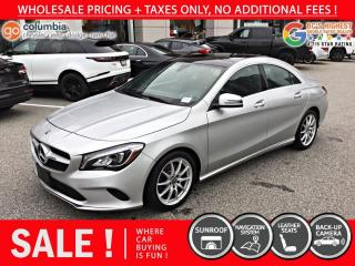 Used 2017 Mercedes-Benz CLA-Class CLA 250 4MATIC - No Accident / Nav / Sunroof for sale in Richmond, BC