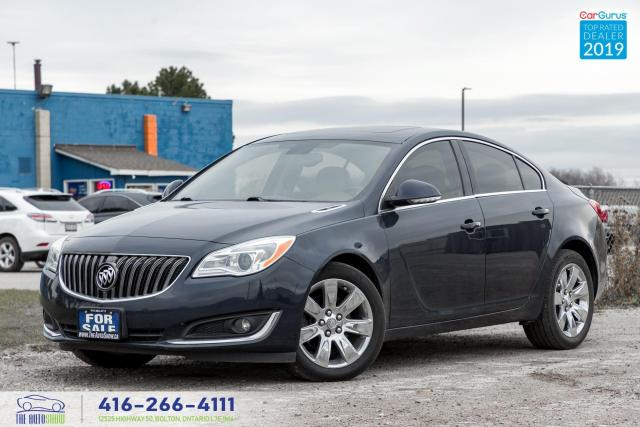 2016 Buick Regal Premium I|AWD|Leather|Navi|Rem start|Clean Carfax|