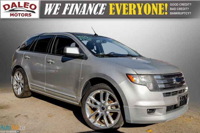 2009 Ford Edge SPORT / PANO ROOF / HEATED SEATS / LEATHER /