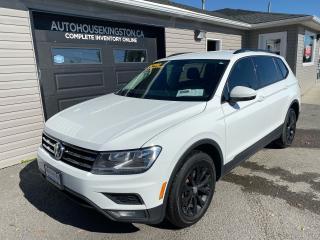 Used 2018 Volkswagen Tiguan Trendline for sale in Kingston, ON