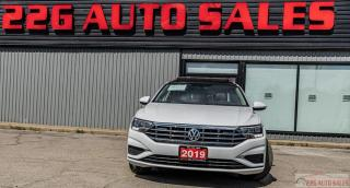 Used 2019 Volkswagen Jetta HIGHLINE|ACCIDENT FREE|SUNROOF|LEATHERBACKUP CAM for sale in Brampton, ON