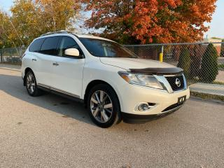 Used 2015 Nissan Pathfinder Platinum for sale in North York, ON