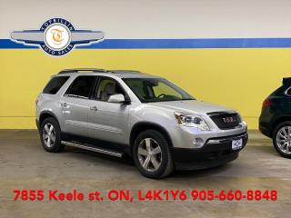 Used 2009 GMC Acadia SLT2 AWD Dual Roof, DVD, Leather for sale in Vaughan, ON