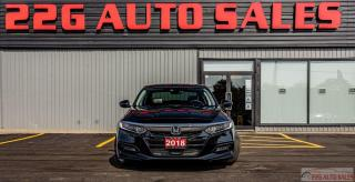 Used 2018 Honda Accord EX-L|ACCIDENT FREE|CAR PLAY|LEATHER|SUNROOF for sale in Brampton, ON
