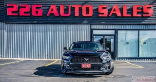 Used 2017 Ford Mustang EcoBoost Premium|ACCIDENT FREE|LEATHER|NAV| for sale in Brampton, ON