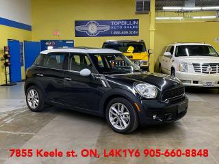 Used 2014 MINI Cooper Countryman S AWD, Leather, Pano Roof, Warraty for sale in Vaughan, ON