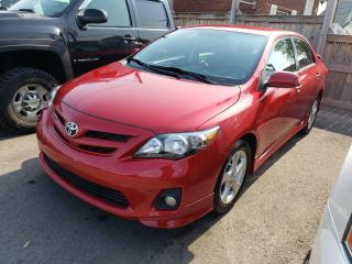 Used 2012 Toyota Corolla S*LOW KMS*ONE OWNER* for sale in Hamilton, ON