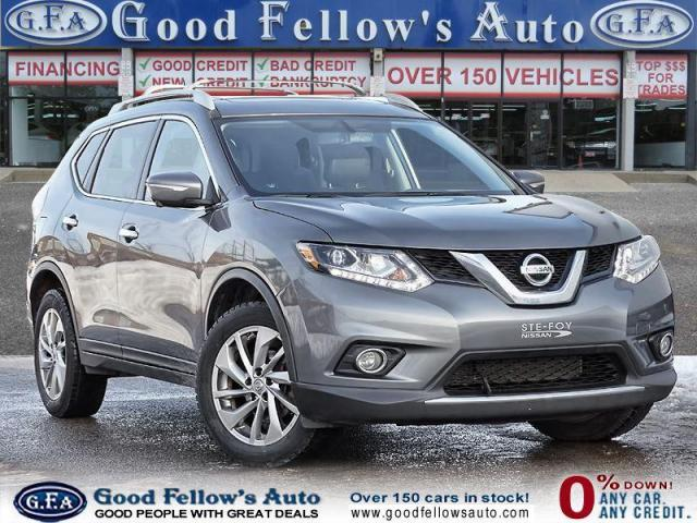2015 Nissan Rogue SL MODEL, LEATHER SEATS, PANORAMIC ROOF, NAVI, AWD