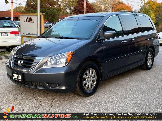 2010 Honda Odyssey EX-L|LOW KM|NO ACCIDENT|DVD|SUNROOF|CERTIFIED