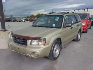 Used 2004 Subaru Forester 2.5XS for sale in Innisfil, ON