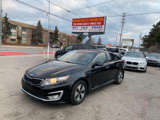 Used 2012 Kia Optima Hybrid Premium for sale in Toronto, ON