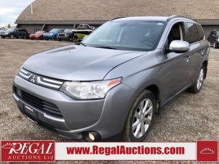 Used 2014 Mitsubishi Outlander GT 4D Utility AWD 3.0L for sale in Calgary, AB