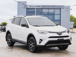 Used 2018 Toyota RAV4 SE NAV | AWD | ROOF | HTD PWR SEATS for sale in Winnipeg, MB