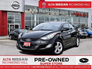 Used 2013 Hyundai Elantra GLS   Sunroof   Heated Seats   Keyless Entry for sale in Richmond Hill, ON