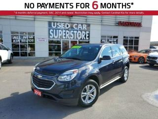Used 2016 Chevrolet Equinox LS, Remote Starter, Bluetooth, Reverse Camera. for sale in Niagara Falls, ON