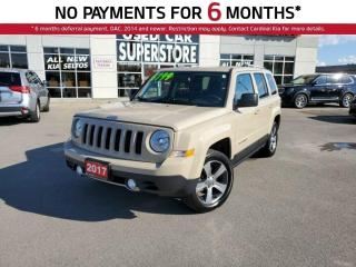 Used 2017 Jeep Patriot Sport, AWD, NAV, Leather, Sunroof. for sale in Niagara Falls, ON