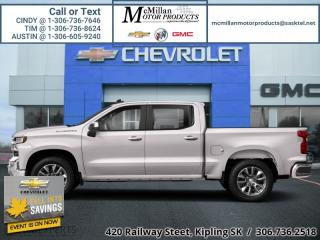New 2020 Chevrolet Silverado 1500 LT  - Voice Command for sale in Kipling, SK