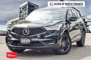Used 2019 Acura RDX A-Spec at No Accident| Remote Start| Apple Carplay for sale in Thornhill, ON