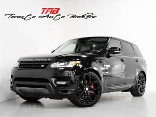 Used 2016 Land Rover Range Rover Sport V8 SC I AUTOBIOGRAPHY I PANO I 22 IN. WHEELS for sale in Vaughan, ON