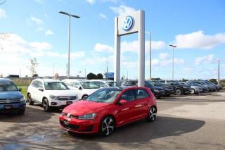 Used 2016 Volkswagen GTI 2.0L Autobahn for sale in Whitby, ON