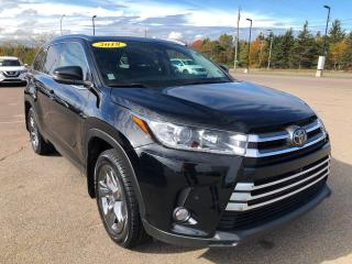 Used 2018 Toyota Highlander LIMITED AWD for sale in Charlottetown, PE