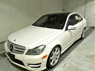 Used 2013 Mercedes-Benz C-Class C350 4MATIC, AMG Pkg, Navi, Cam, PanoRoof for sale in Concord, ON