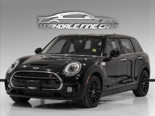 Used 2016 MINI Cooper Clubman S HB, Blue Seats, Navi, Cam, PanoRoof, HUD, PDC, Loaded for sale in Concord, ON