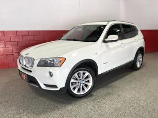 Used 2011 BMW X3 35i XDRIVE NAVI PANO-ROOF HEADS UP DISPLAY 360 CAMERA for sale in North York, ON