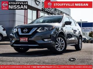 Used 2017 Nissan Rogue SV Tech   NAV  360CAM  Pano Roof  Alloys  Blind SP for sale in Stouffville, ON