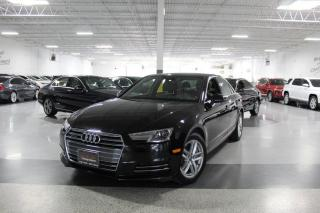 Used 2017 Audi A4 QUATTRO I LEATHER I SUNROOF I HEATED SEATS I BLUETOOTH for sale in Mississauga, ON