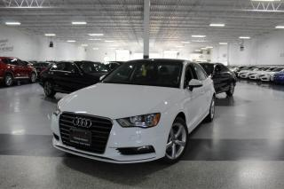 Used 2016 Audi A3 LEATHER I SUNROOF I HEATED SEATS I POWER OPTIONS I BT for sale in Mississauga, ON