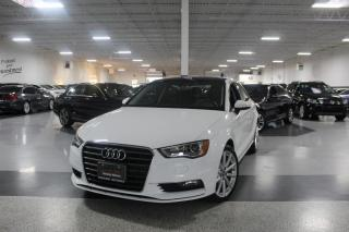 Used 2016 Audi A3 TFSI I LEATHER I SUNROOF I HEATED SEATS I POWER OPTIONS I BT for sale in Mississauga, ON