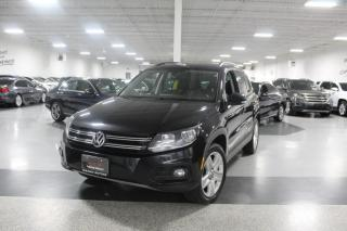 Used 2016 Volkswagen Tiguan NO ACCIDENTS I LEATHER I NAVIGATION I PANOROOF I HEATED SEAT for sale in Mississauga, ON