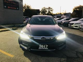 Used 2017 Honda Accord Sedan 4dr I4 CVT Touring for sale in Barrie, ON