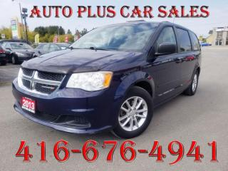 Used 2013 Dodge Grand Caravan 4DR WGN for sale in Scarborough, ON