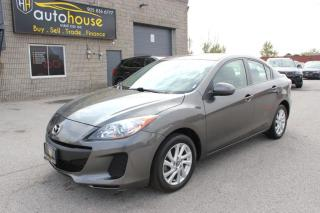 Used 2013 Mazda MAZDA3 ONE OWNER ,GS-SKY  ,REMOTE STARTER ,WINTER TIRES for sale in Newmarket, ON