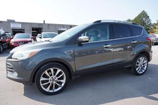 Used 2016 Ford Escape 4WD TURBO PREMIUM PKG NAVI CAMERA LEATHER *FREE ACCIDENT* BLUETOOTH ALLOYS for sale in Milton, ON