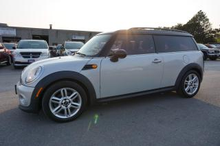 Used 2011 MINI Cooper Clubman 6Spd CERTIFIED 2YR WARRANTY *ACCIDENT FREE* BLUETOOTH PANO ROOF LEATHER ALLOYS for sale in Milton, ON