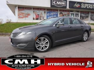 Used 2015 Lincoln MKZ Base  NAV CAM ROOF HTD/CLD-SEATS P/SEATS for sale in St. Catharines, ON