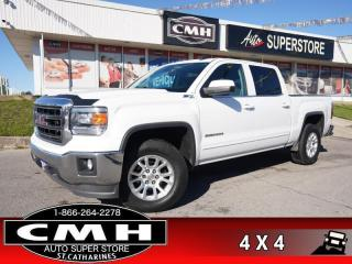 Used 2015 GMC Sierra 1500 SLE  Z71 CAM BT TOW-PKG HTD-SEATS for sale in St. Catharines, ON