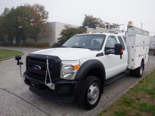 Used 2012 Ford F-450 SD SuperCab Dually Service Truck 4WD for sale in Burnaby, BC