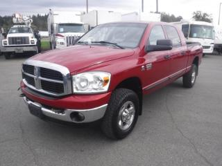 Used 2009 Dodge Ram 3500 SLT Mega Cab 6.5 Foot Box 4WD Diesel for sale in Burnaby, BC