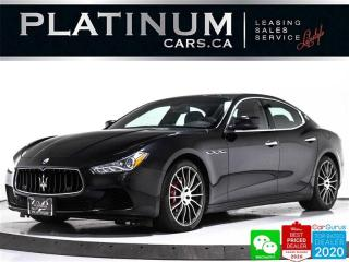 Used 2016 Maserati Ghibli S Q4, 404HP, AWD, NAV, CAM, SUNROOF, HEATED, BT for sale in Toronto, ON