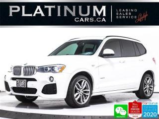 Used 2017 BMW X3 xDrive28i, AWD, M-SPORT, NAV, PANO, CAM, HEATED for sale in Toronto, ON