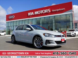 Used 2018 Volkswagen GTI 6 SPEED M/T   ONE OWNER   B/U CAM   HTD STS   B/T for sale in Georgetown, ON